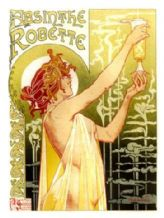 Absinthe Robette Metal Wall Sign (3 sizes)